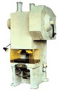 Пресс механический однокривошипный простого действия КИ2126