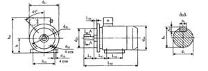 Электродвигатели серии АД225